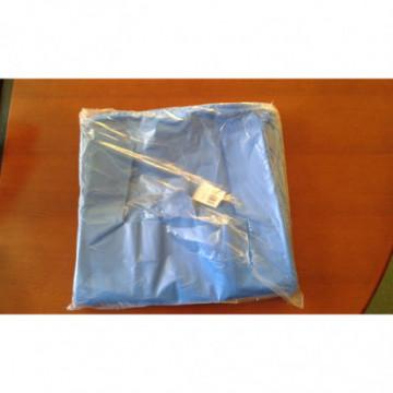 Torba papierowa fałdowa brąz 370x180x85 mm 250 szt.