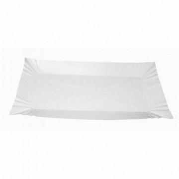Podkładka prostokątna złota pod tort 30x40 cm karbowana GRUBA