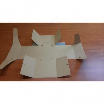 Pudełko kartonowe cukiernicze 210x125x70 mm PASKI szt.